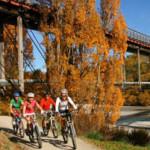 Radwandern in Neuseeland